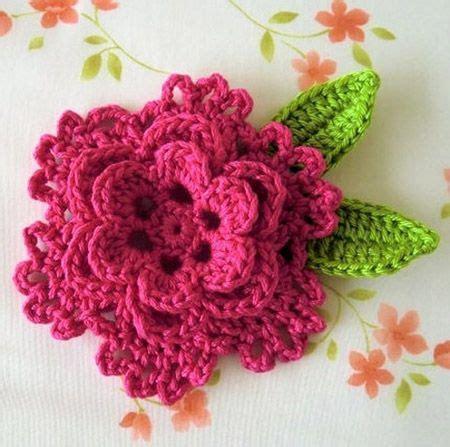 pattern crochet a flower 10 adorable free crochet flower patterns free crochet