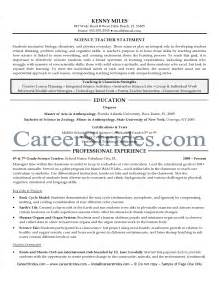Sle Resume Exles For by Secondary Science Resume Sales Lewesmr
