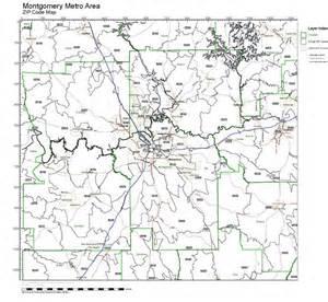 Montgomery Zip Code Map by Similiar Alabama Zip Codes By Address Keywords
