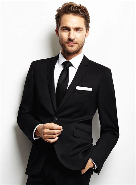 Black Formal Style Suit 41444 black gentleman suit www pixshark images galleries