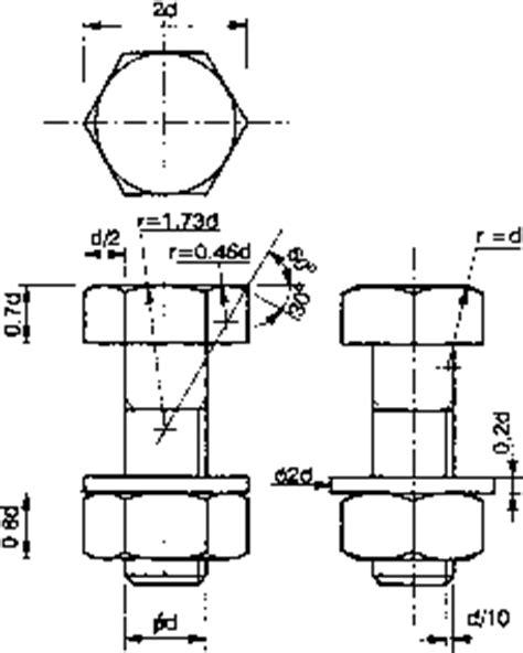 bolt detail drawing 3rd angle projection engineering drawing joshua nava arts