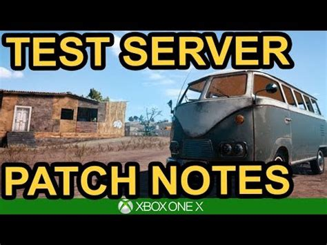 pubg test server xbox patch notes pubg xbox test server