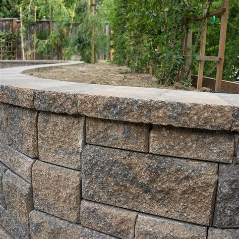 peninsula building materials allan block retaining walls segmental retaining walls in various