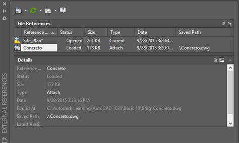 Tutorial Autocad Referencias Externas | tutorial de autodesk autocad 174 2016 referencias externas