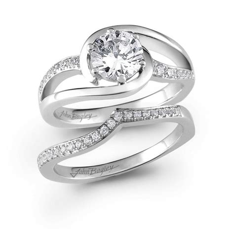 46 best images about swirl bridal sets on bridal rings wedding sets and