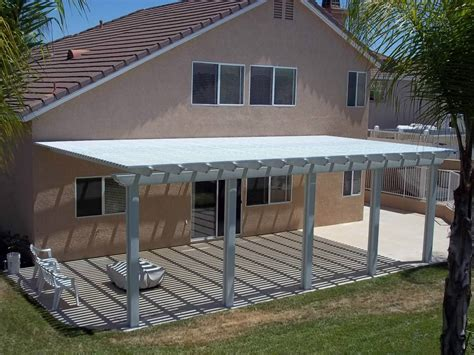 DIY Aluminum Patio Covers Ideas