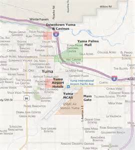 map of arizona yuma yuma az map pictures to pin on pinsdaddy