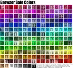 html color chart blue color chart