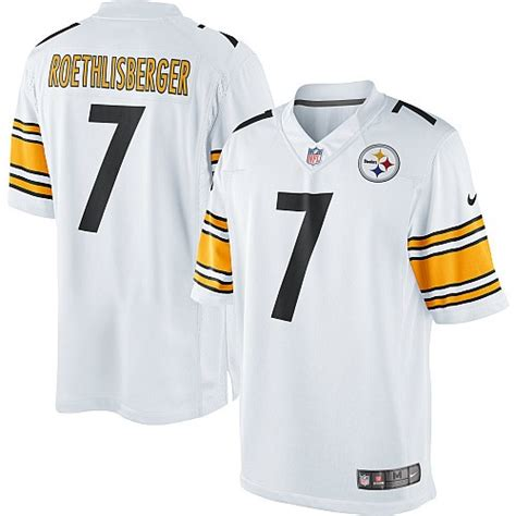 youth white ben roethlisberger 7 jersey attract p 700 nfl pittsburgh steelers limited white road nike jersey 7