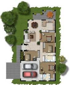 Modern Villa Floor Plan 3d Modern House Floor Plans Floor Plan Rendering Friv 5