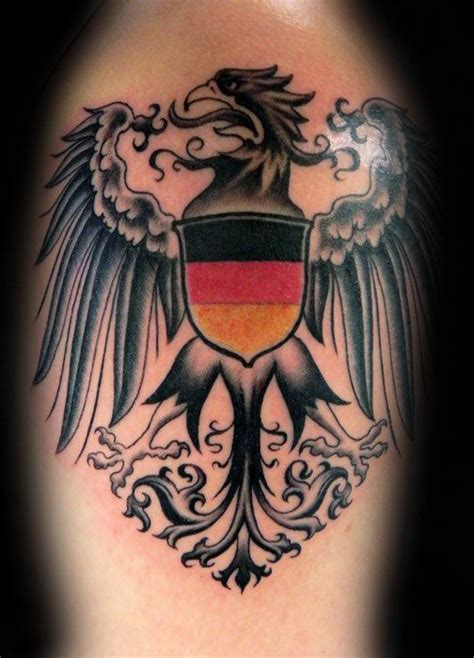 german tattoos for men 50 german eagle designs for germany ink ideas