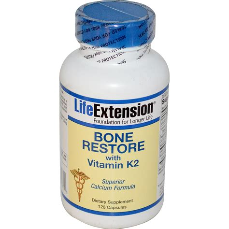 supplement k2 extension bone restore with vitamin k2 120