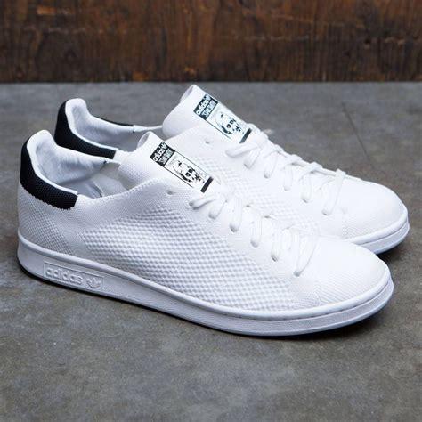 adidas men stan smith primeknit white footwear white core
