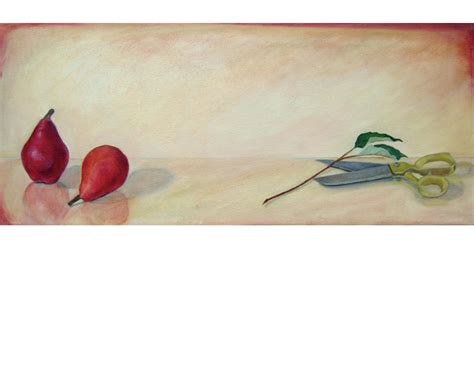a pair of pears by meg page still lifes meg soper art