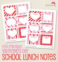 free printable s day school lunch notes chickabug