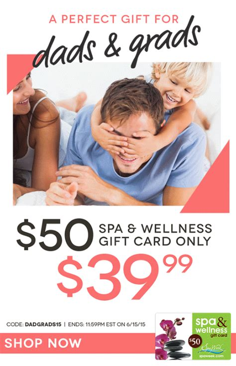 Spa And Wellness Gift Card Spa Week - 50 spa wellness gift card only 39 99 freebies2deals