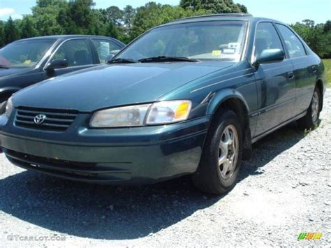 Toyota Camry Green Color 1998 Green Metallic Toyota Camry Le 9624392 Photo 4
