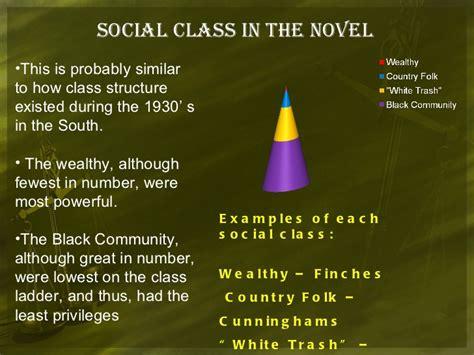 to kill a mockingbird themes social class how does the stock market crash relate to to kill a