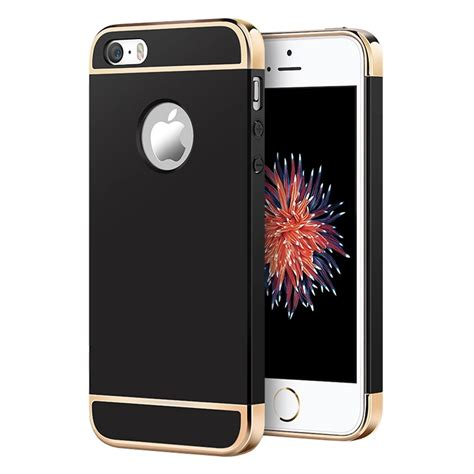 Bumper Ruber For Iphone 5 5s Frame Casing jual 3 in 1 plated pc frame bumper iphone 5 5s black