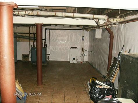 bq basement systems basement waterproofing before and