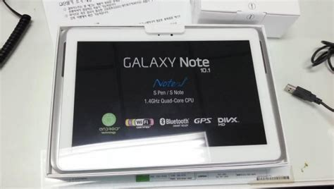 samsung galaxy note 10 1 note new specs revealed