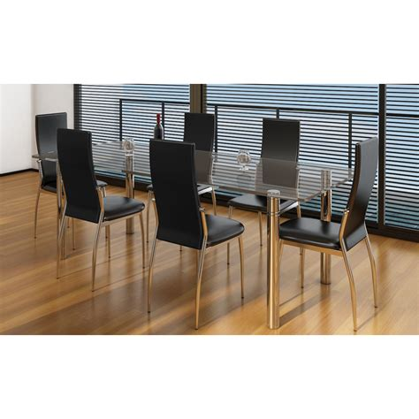 sedie moderne nere articoli per sedie moderne cucina e pranzo 6 pelle