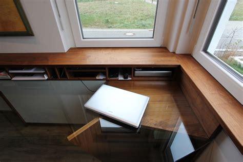 schreibtische leipzig eingebauter schreibtisch im arbeitszimmer dein tischler