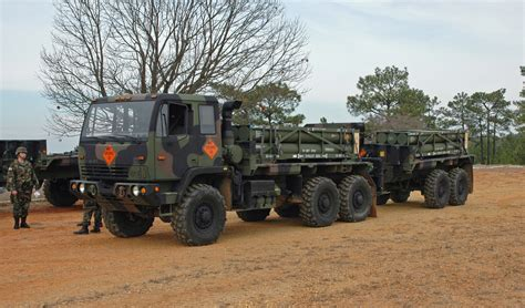 Cargo Army 7 9 m1084a1 5 ton truck cargo and m1095a1 5 ton trailer flickr