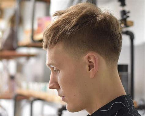 mannerfrisuren bei dunnem haar haarschnitt trends