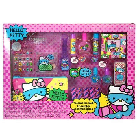 Hello Set Make Up awardpedia sanrio hello mega boxed cosmetic make