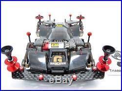 Custom Hg Carbon Rear Multi Roller Stay 3mm Silver 94867 For Tamiya Mi expert tuned up tamiya mini 4wd 19414 brocken sfm with 2017 j cup motor with ship model kits ships