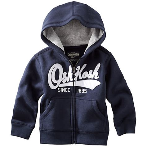 Heritage Fleece Hoodie Oshkosh Original easy shop carters baby boys 4 pc handsome layette set 9 month blue grey