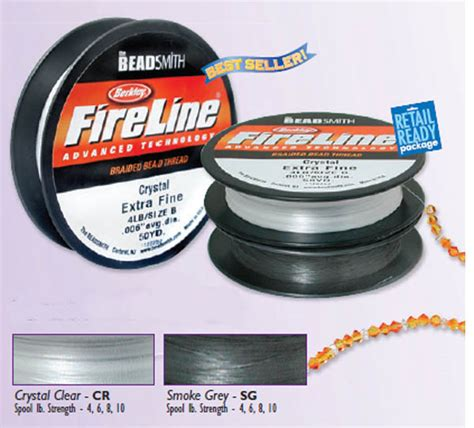 fireline size b 15mm 4lb braided beading thread