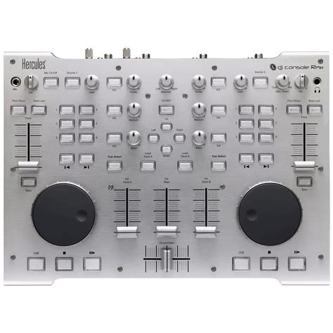 console hercules hercules dj console rmx dj controller and audio interface