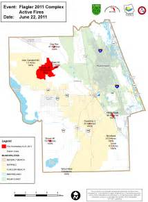 flagler county fires all locations acreage maps