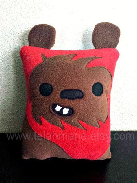Ewok Pillow by Ewok Wars Pillow Cushion Gift Ewok Wars