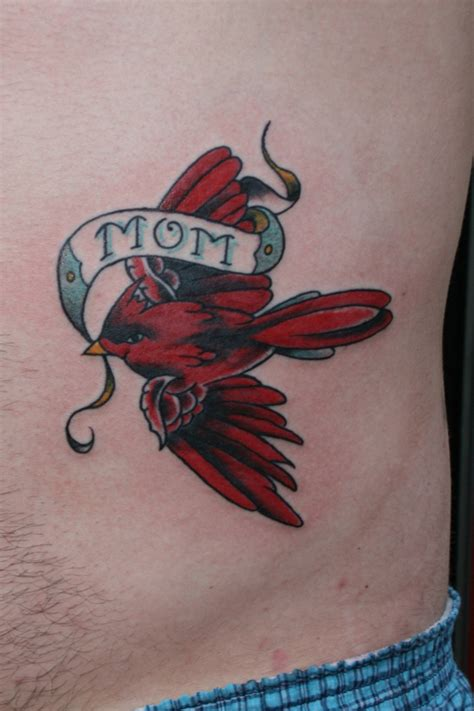 cardinal tattoo ideas cardinal flying memorial designs search