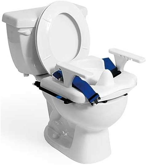 Rifton Toilet Chair by Rifton Small Blue Wave Toilet Seat Ideas For Special