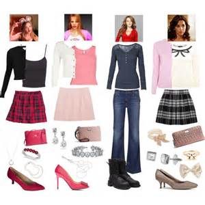 mean girls polyvore