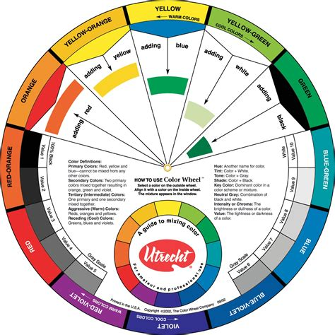 save on discount utrecht color wheel color guide more color wheels at utrecht