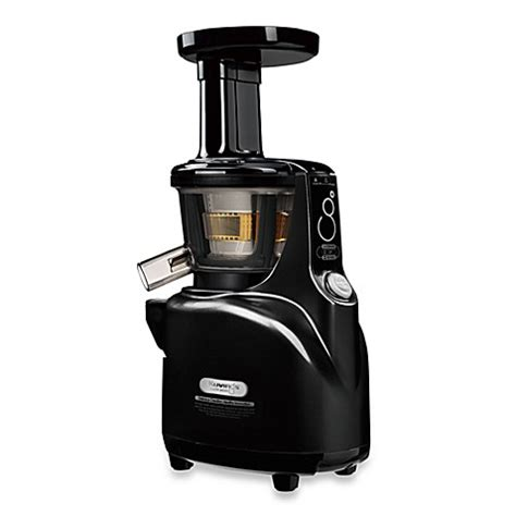 juicer machine bed bath and beyond buy kuvings 174 silent juicer in black pearl from bed bath