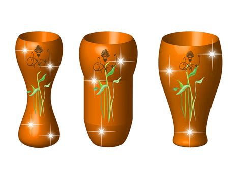 Free Vase by Vase Template Cliparts Co