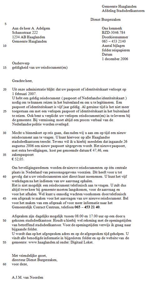 Adressering Formele Brief Cv Voorbeeld 2018 zakelijke brief voorbeeld zinnen voorbeeld cv 2018