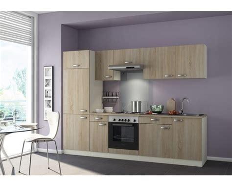 keuken 270 cm keuken padua 270cm licht eiken incl inbouwapparatuur hrg