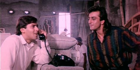 biography of film saajan sanjay dutt rubbishes rumours of tiff with salman says
