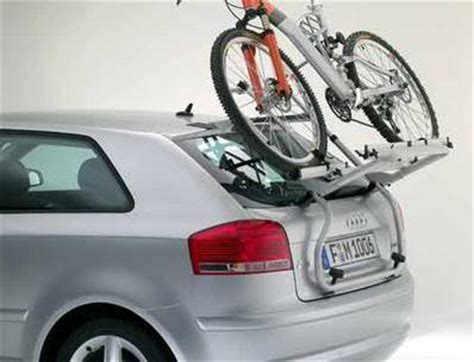 Audi A3 Bike Rack by New Genuine Audi A3 8p 2dr Tailgate Boot 2 Bike Carrier