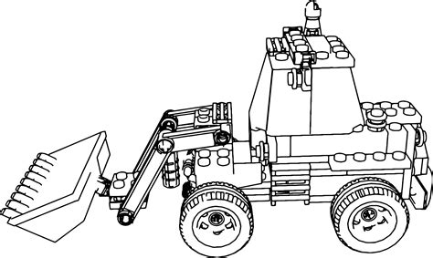 Lego Truck Coloring Pages lego truck coloring pages coloring pages