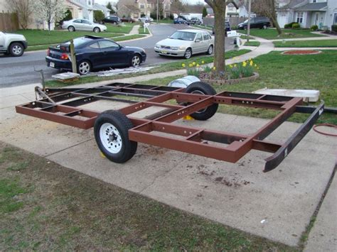 home built trailer plans homemade cing trailers homedesignpictures