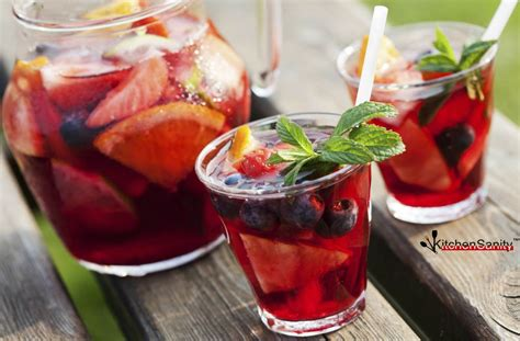 8 fruity sangrias 40 best summer side dishes kitchensanity