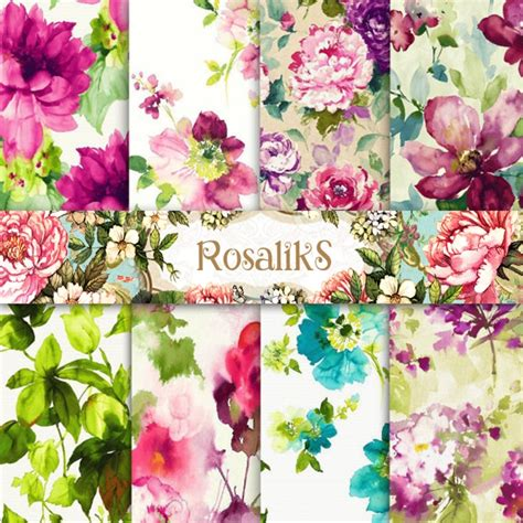 Floral Flowers by Vintage Floral Wallpaper For Sale Wallmaya